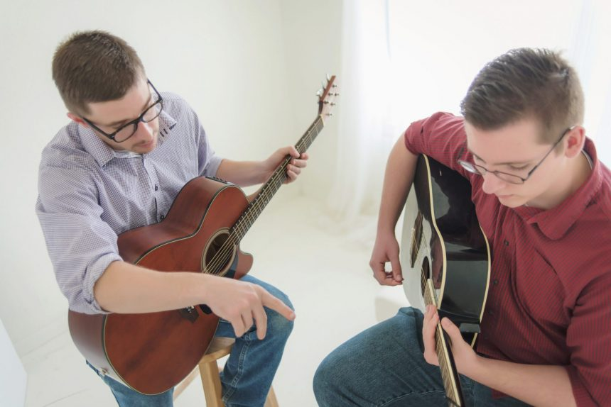 Student received quality guitar instruction from red dirt music academy