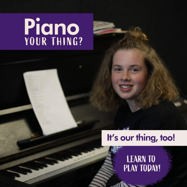Piano your thing? it's our thing, too learn to play today