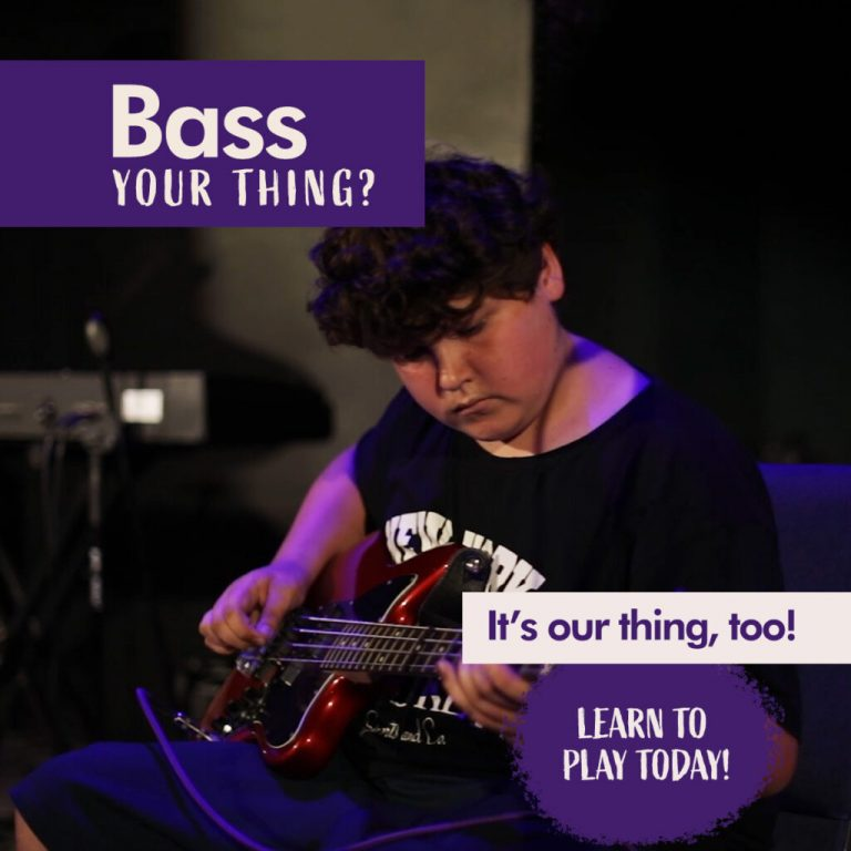 bass your thing? it's our thing, too learn to play today