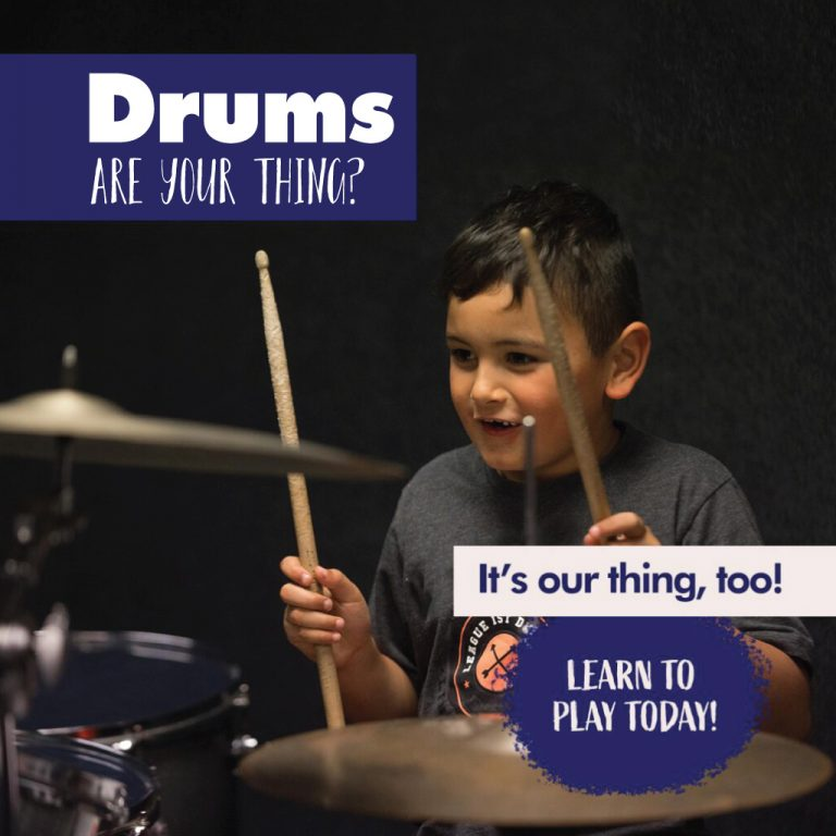drums are your thing? it's our thing, too learn to play today