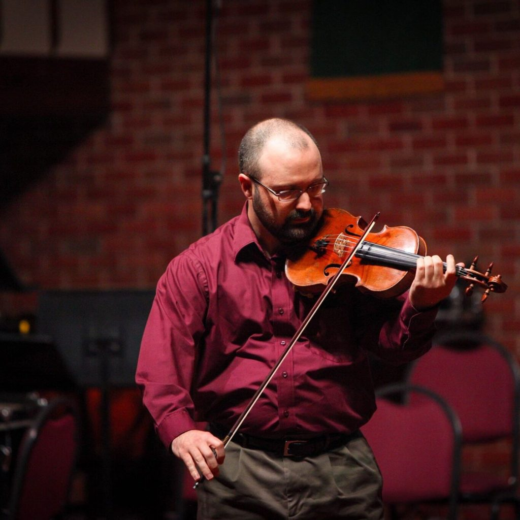 Gus Weaver violin instructor at red dirt music academy