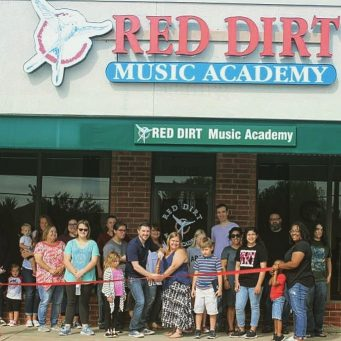Red dirt music academy ribbon cutting ceremony